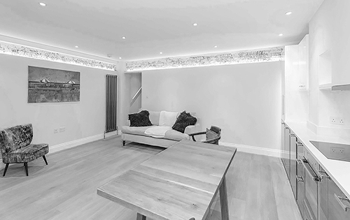 Interior design in Leinster Square, London by Dalianis Architects