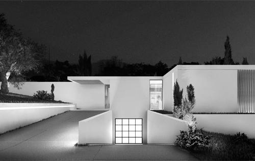 Contemporary villa in Kontokali Corfu